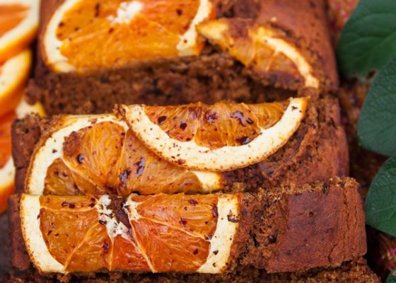 Healthy, gluten free Orange – Banana bread