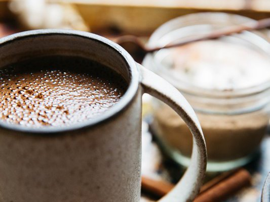 Healthy, dairy free hot chocolate recipe!