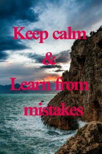 how to learn from mistakes and move forward