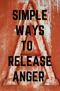 simply ways to release anger