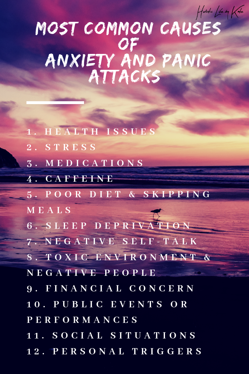 most common causes of anxiety and panic attacks