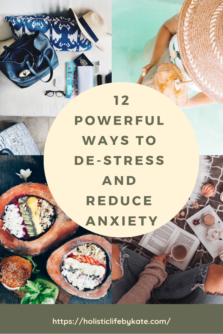 Simple ways to relax and reduce anxiety