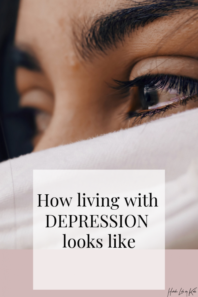 how living with depression really looks like