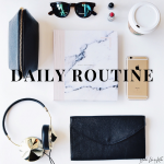 create a healthy daily routine