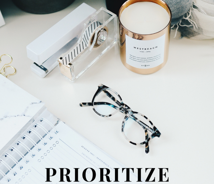 Prioritize Your Life In 3 Simple Steps