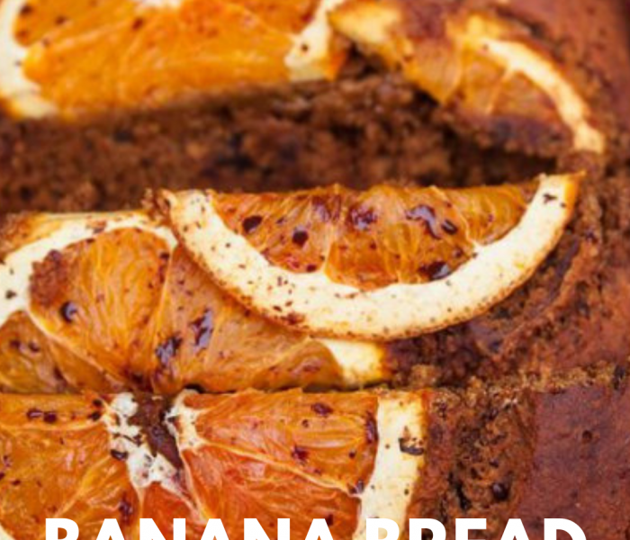 Healthy, Gluten-Free Orange -Banana Bread