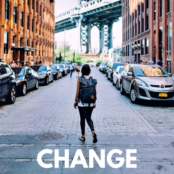 How To Navigate Massive Life Change Like A Badass: 5-Step Process Of Going After The Life You Want During Uncertain Times.