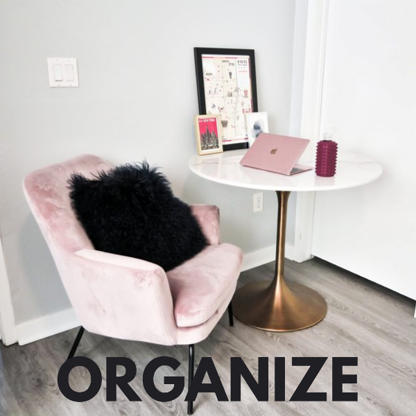 One Simple Strategy To Organize Your Life In One Day.